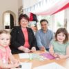 Rona MacKay MSP visited the Tower Nursery to discuss partnership funding